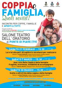 Locandina Coppia e famiglia 2015